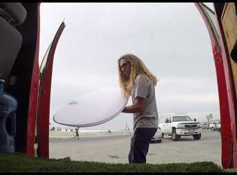 Rob Machado's most recent board is The Midas, and it looks very, very fun.