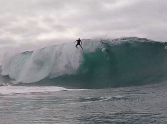 Tyler Stanaland believes he can fly at the Wedge.