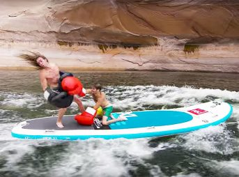 Sometimes when you see someone on an inflatable SUP, you just get this urge to punch them in the mouth.