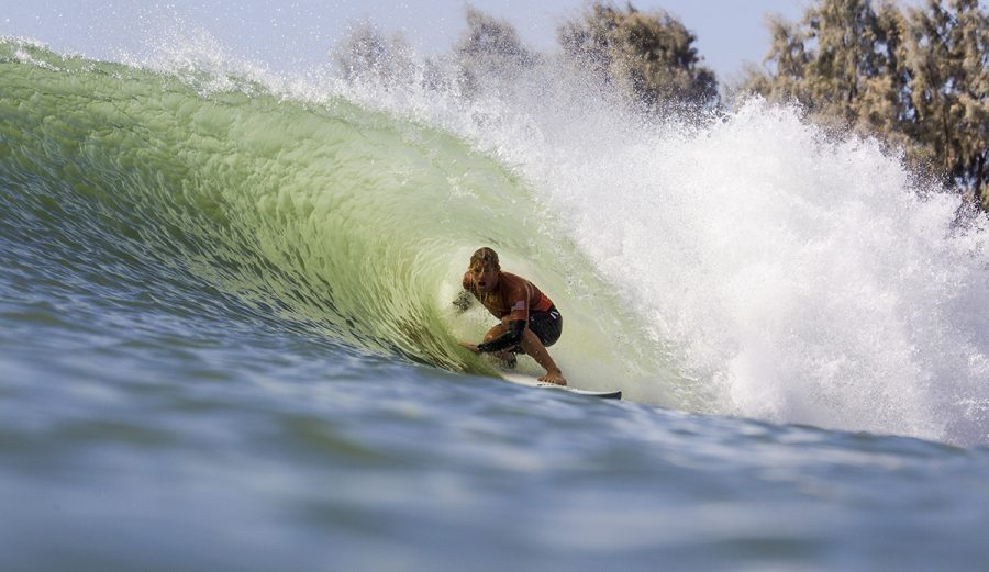 John Florence at the Future Classic in Lemoore, CA. Photo: WSL