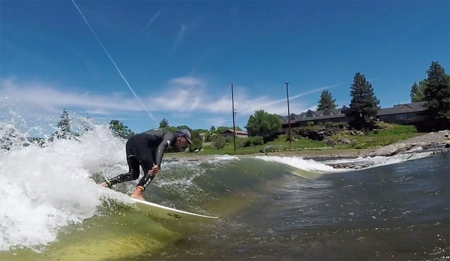 Weird waves are all the rage right now. Dylan Graves, Gudauskas brothers, and Hannah Scott met up with Gerry Lopez to surf a river wave in Bend, Oregon.
