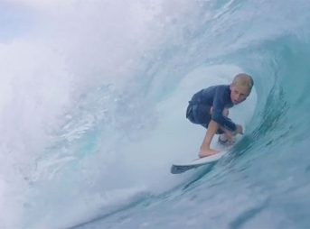 It's ridiculously rare for a grom who is Hayden Rodgers' age to surf as well as he does.