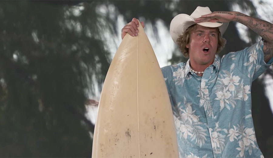 Surfer Magazine asked Albee Layer to become an actor for a North Shore sequel.