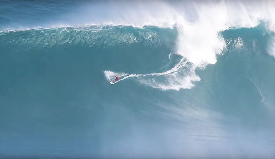 Makua Rothman doesn't tow often, but when he does... watch out.