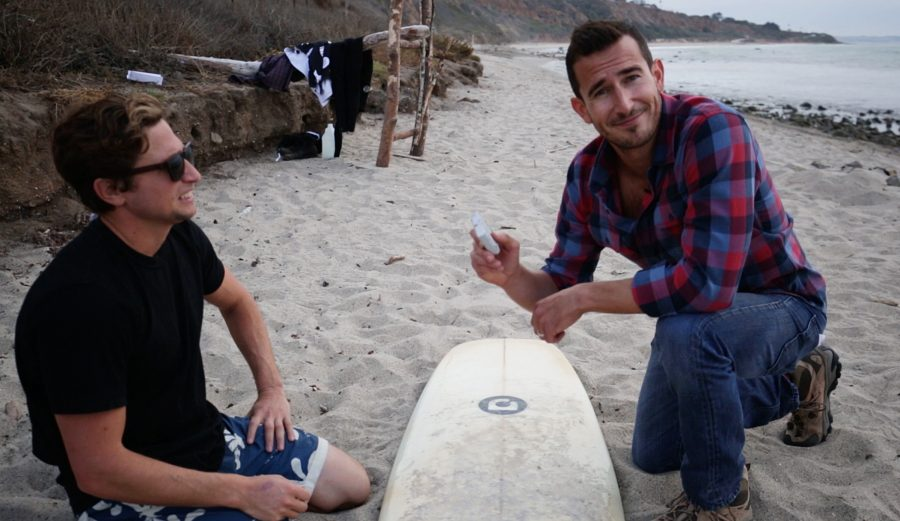 How To Wax a Surfboard. Photo: The Inertia/Smolowe