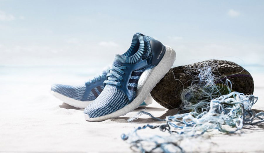 Shoes Made of Ocean Trash