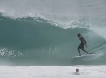 Seabass can quit surfing now.
