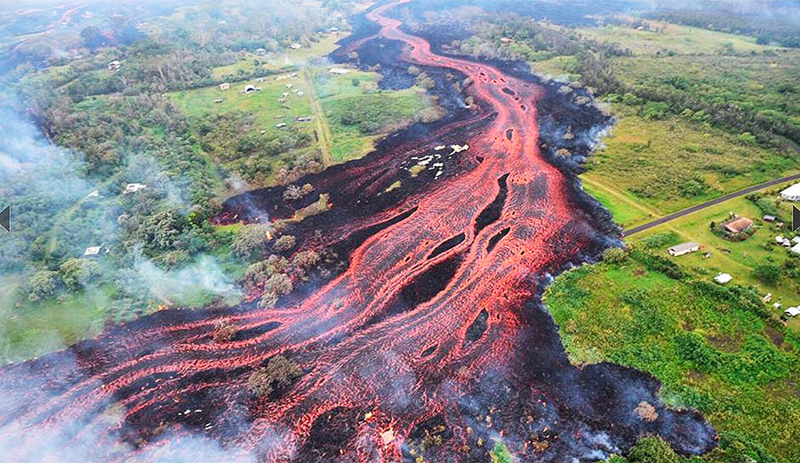 Eruptions and Lava Flows on Kilauea: What's Going on Beneath Hawai'i's Volcano?
