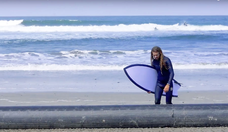 Watch rob machado 39 s experiment with a massive fish the for Rob machado go fish