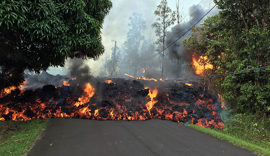 Lava Ash Flows Mudslides And Nasty Gases Examining