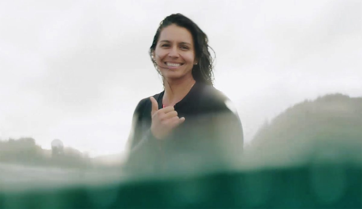 Tulsi Gabbard, Surfer and Ocean Advocate, Will Run For President in 2020
