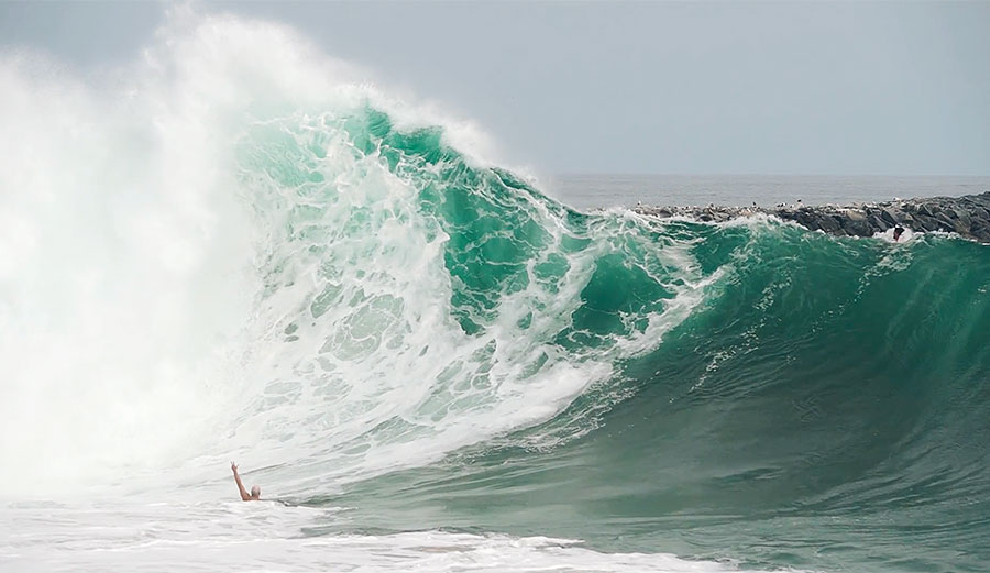 Finally, a Legit Body Surfing Edit From the Wedge