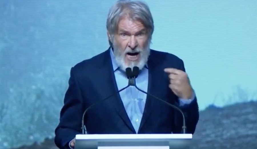 Harrison Ford S Passionate Climate Change Speech The Inertia