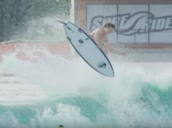 The Quiksilver team launched an aerial assault on Waco, Texas. Welcome to the future of surfing.