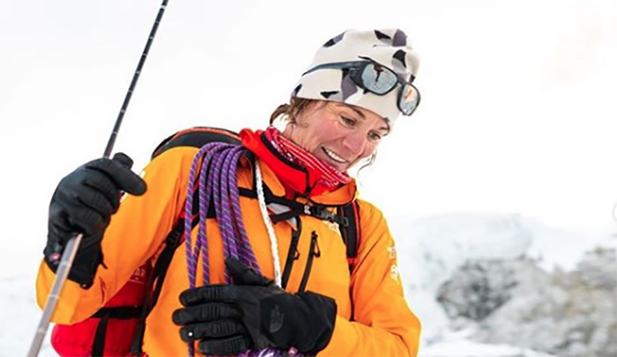 Hilaree Nelson and Jim Morrison Make Historic First Ski Descent of Lhotse Couloir in Himalayas