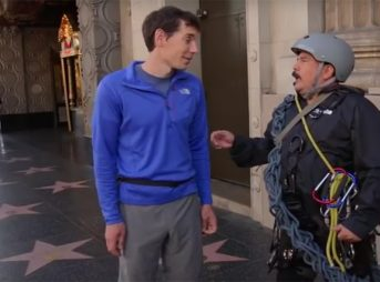 Alex Honnold, Jimmy Kimmel, The North Face, climbing, Free Sol