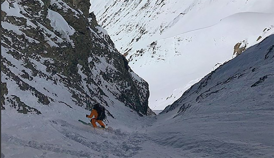 Hilaree Nelson and Jim Morrison Release Photos From Lhotse Descent and They're Pretty Mind Blowing