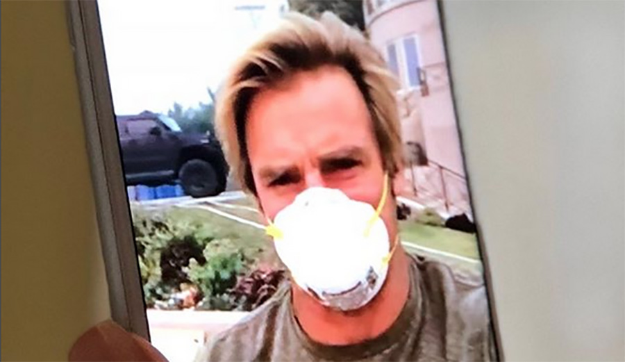 Laird Hamilton Posts While Defending Home From the Woolsey Fire as Malibu Residents Evacuate