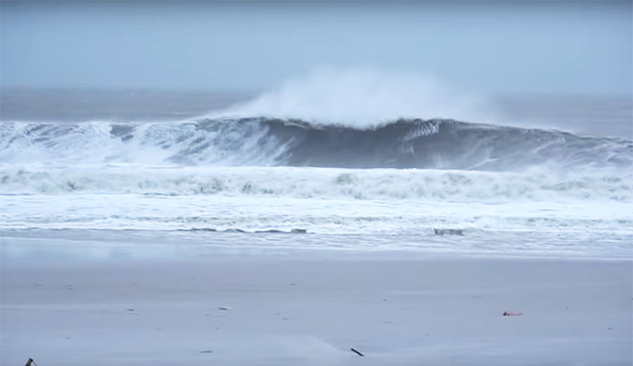 Ben Gravy and One Giant, Wild New Jersey Swell