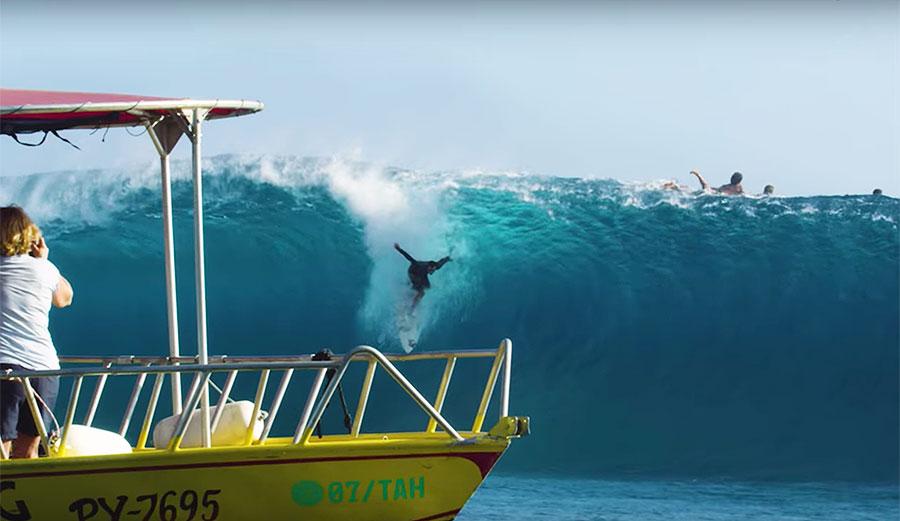 Brett Barley's First Trip Ever to Tahiti Was So, So Successful