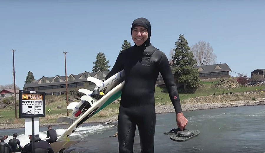 Gerry Lopez Is Still Ripping on Weird Waves