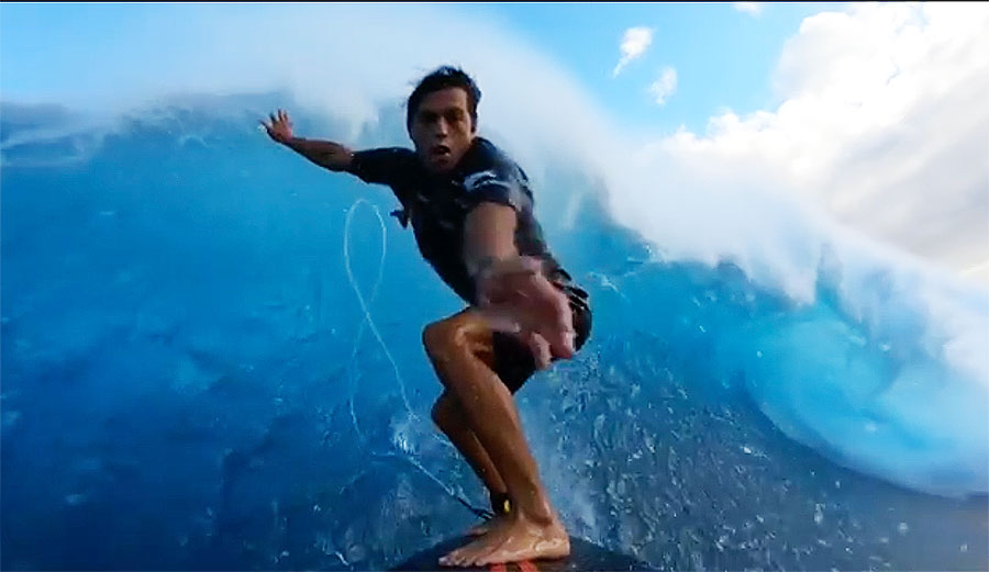 Kai Lenny's GoPro Footage From Jaws Doesn't Even Look Real