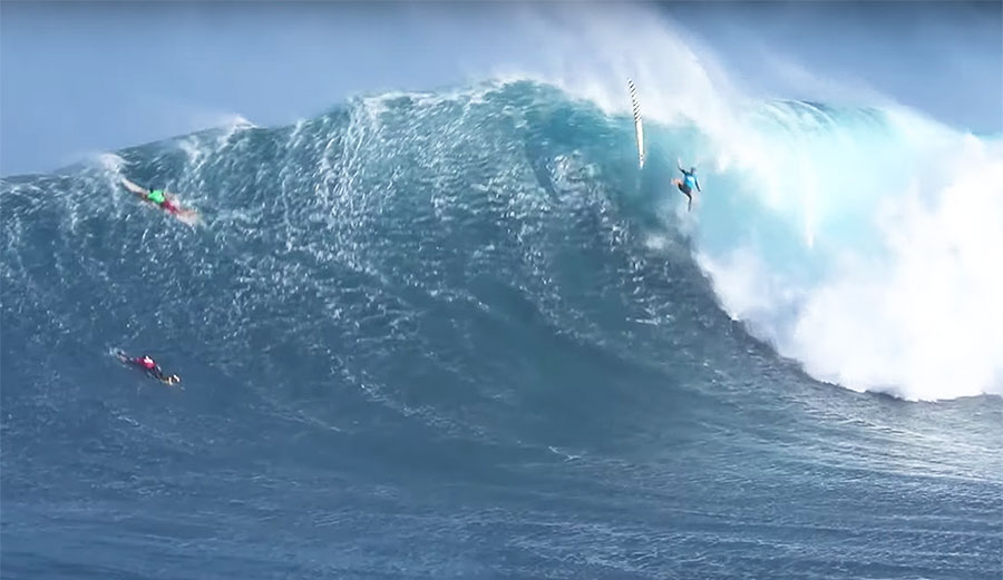 Just One Horrendous Jaws Wipeout