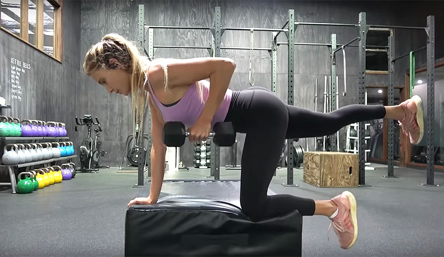 Alana Blanchard's Full Body Workout Will Make You Sweat Just by Watching It