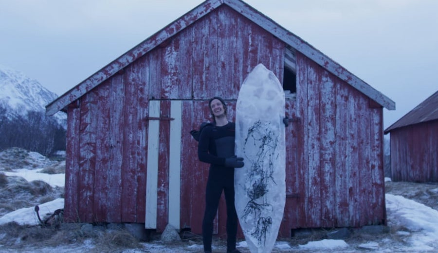 Two Norwegian Surfers Want to Shape Surfboards Made of Ice and Ride Them