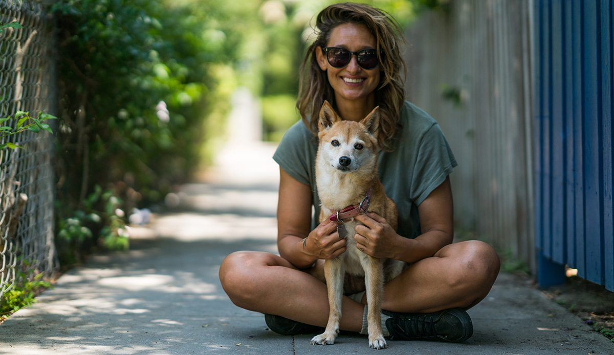 Meet Kassia Meador's Adorable 14-Year-Old Pup, Iruka