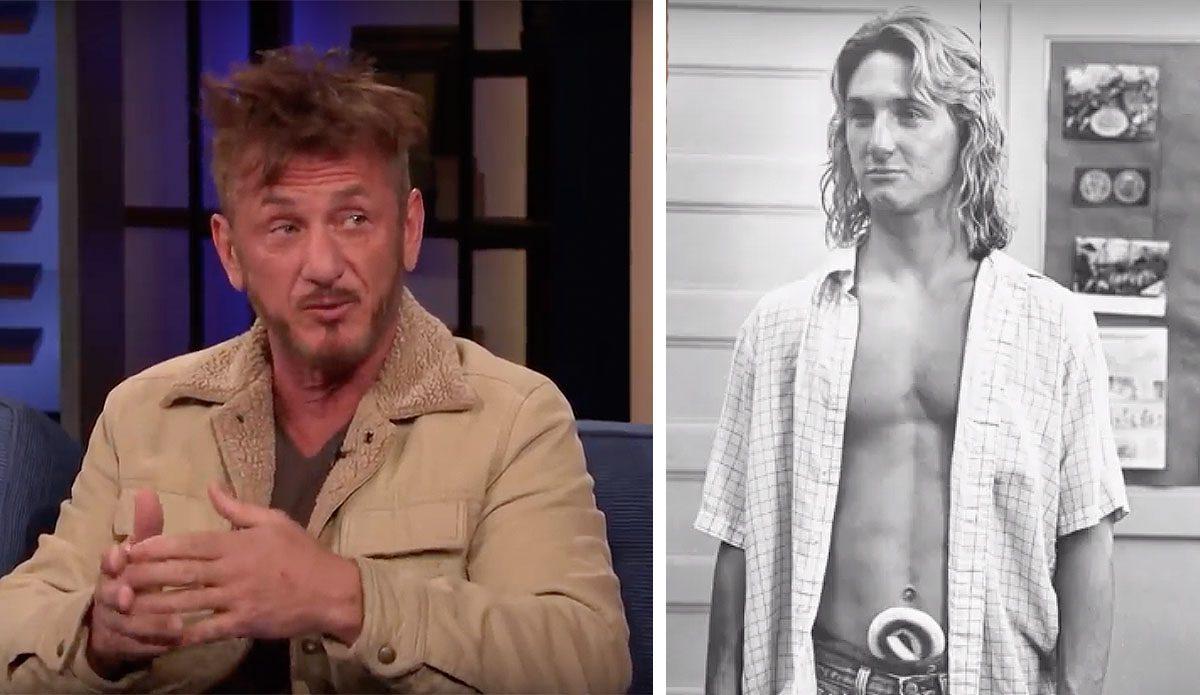Sean Penn Says He Just...