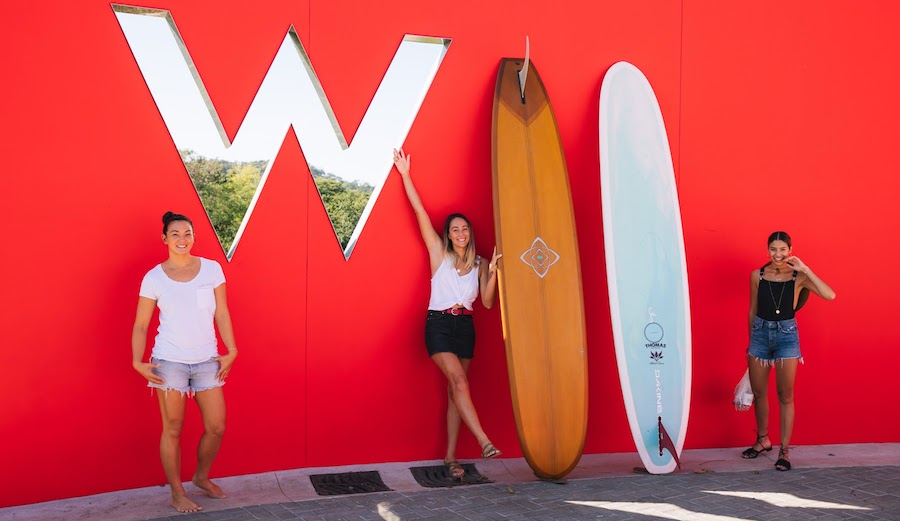 W Hotels Is Offering to Pay* Surfers' Board Bag Fees
