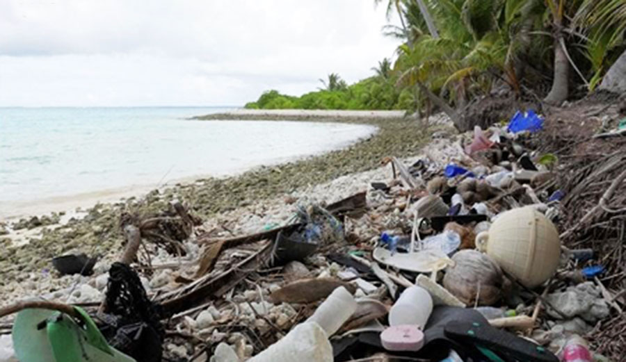 This Tiny Island Paradise Has Nearly 1 Million Discarded Flip Flops On It