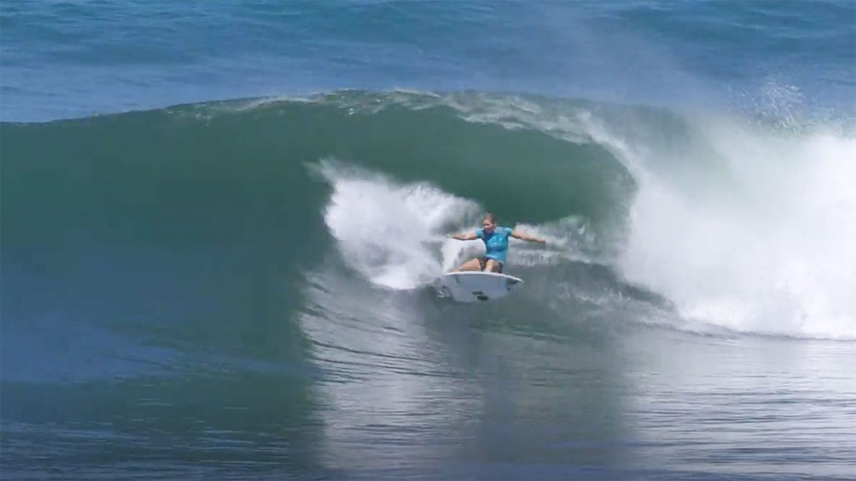 Stephanie Gilmore's Perfect 10 at Keramas Is Proof She Can Read the Ocean Like a Book