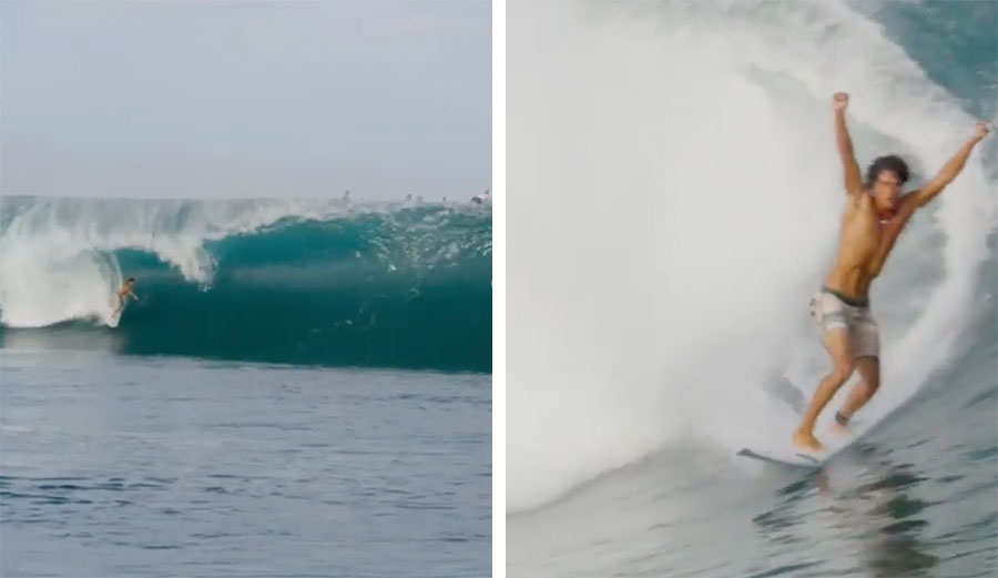 Matahi Drollet Made a Teahupoo Tube That Should Not Have Been Possible