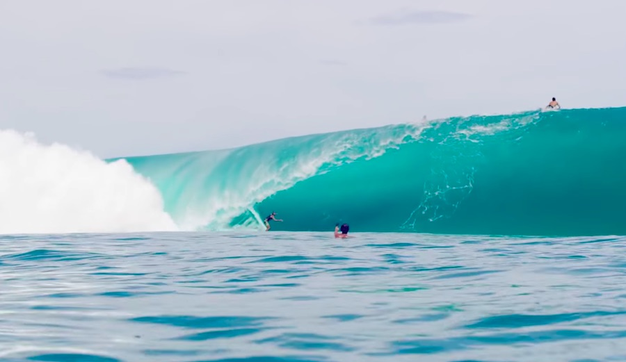 A Crop of Tahiti's Best Surfers Mount a Teahupo'o Super Session