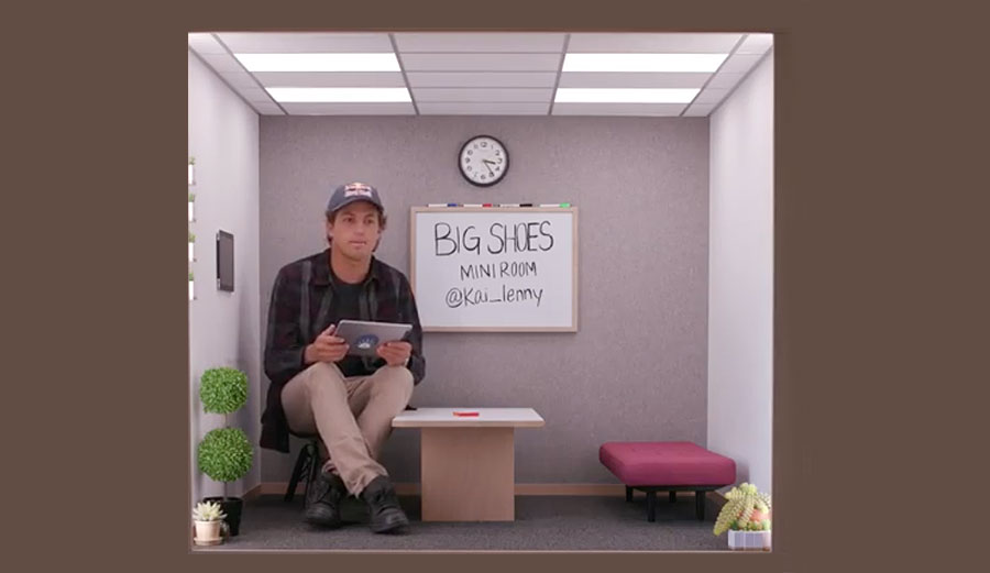 9 Minutes with Kai Lenny In the Most Curiously Tiny Room You've Ever Seen