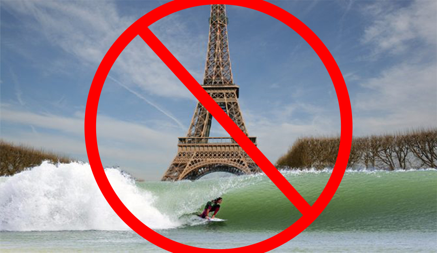 Olympic Surfing in Paris Won't Be in Wave Pool | The Inertia