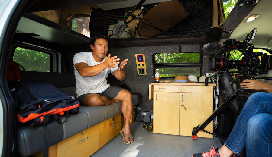 You Can Reserve the Van Jimmy Chin Lived in While Shooting 'Free Solo' For $250 Per Day