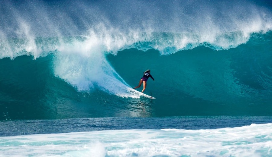 Aaron Lieber on Filming Bethany Hamilton Surf the World's Deadliest Wave Pregnant