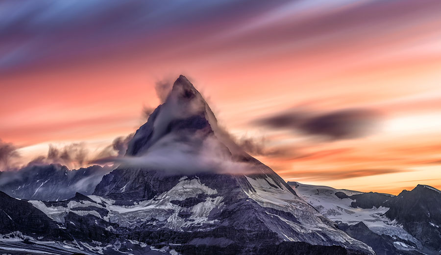 The Matterhorn Is Cracking Up Because It's Losing Ice So Fast