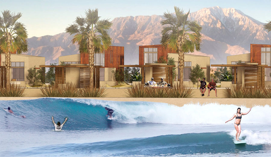 Palm Desert, California Is Getting an Enormous New Wave Pool Facility Called DSRT Surf