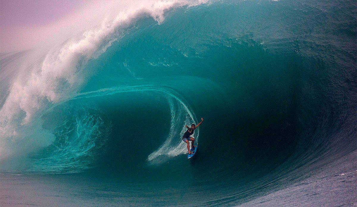 Maxed-Out Teahupo'o Put a Stop to the Tahiti Pro Trials and Opened the Door for One Magic Freesurf