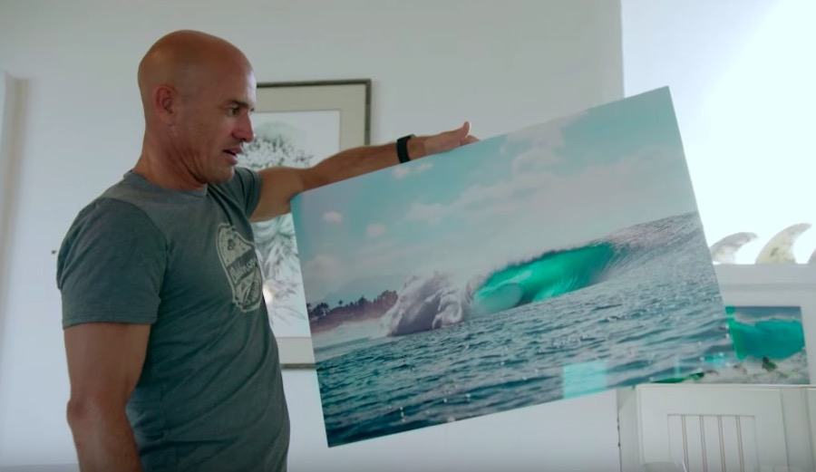 Kelly Slater on Why This Single Image of Pipeline Haunts Him to This Day
