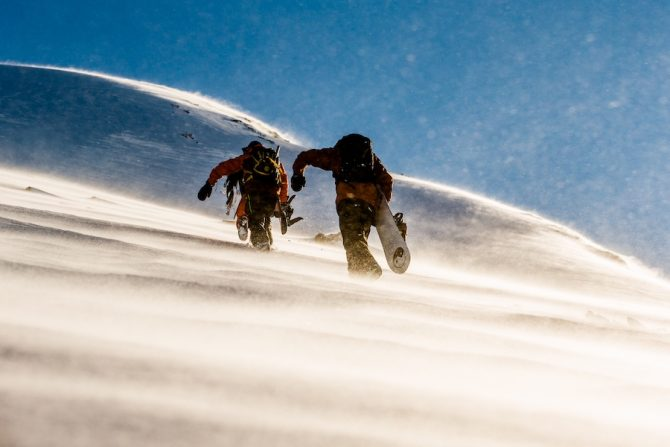 This Is What Snowboarding in the Backcountry Teaches You About Life