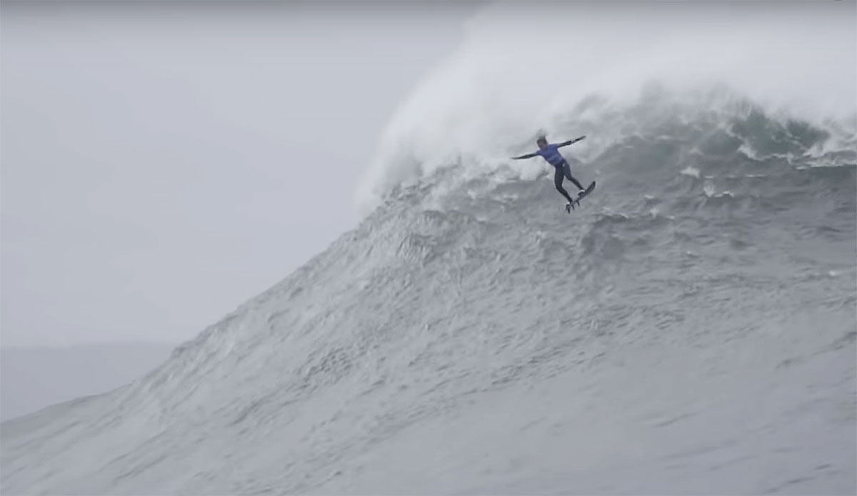 The Highlight Reel from the Nazaré Big Wave Tow Surfing Challenge Will Leave You Speechless