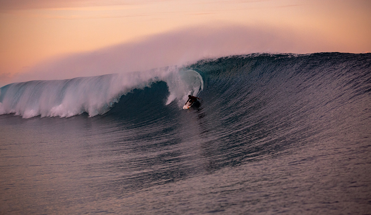 Teahupo'o's Post-Lockdown Swell Showed Off a Crop of Phenomenal Local Talent