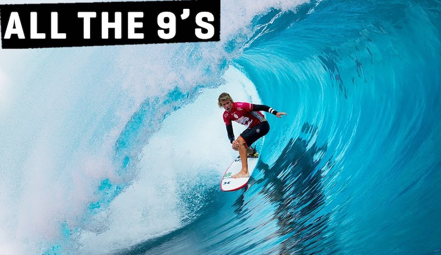 A Look Back at the 2014 Pro Tahiti and Every Score That Went Above a 9