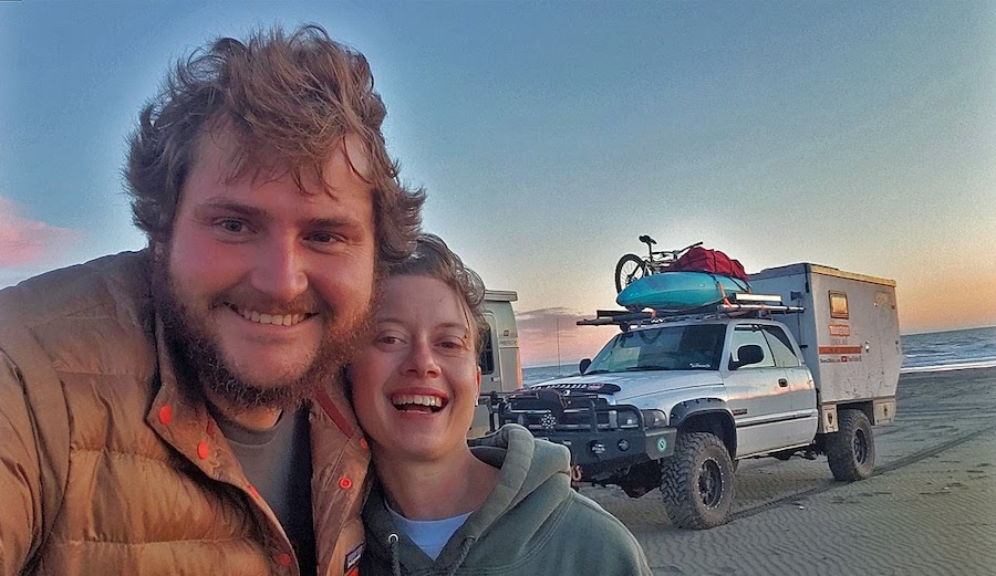 Nomadic Couple Drives Home-on-Wheels to Northern Canada's Arctic Ocean Then on to Alaska
