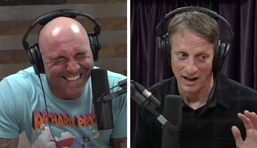 Tony Hawk Tells Joe Rogan About Surfing With Laird Hamilton: 'the Most Frightening Thing I've Seen in My Life'